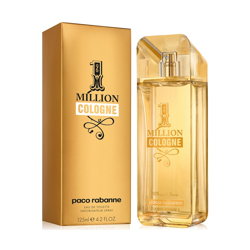 1 Million Cologne For Men Eau De Toilette Spray 4.2oz 125ml