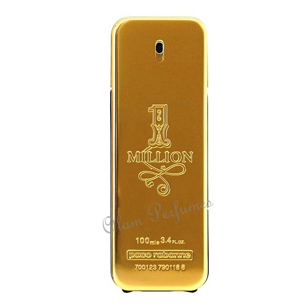 Paco Rabanne 1 Million for Men 3.4oz 100ml Unbox