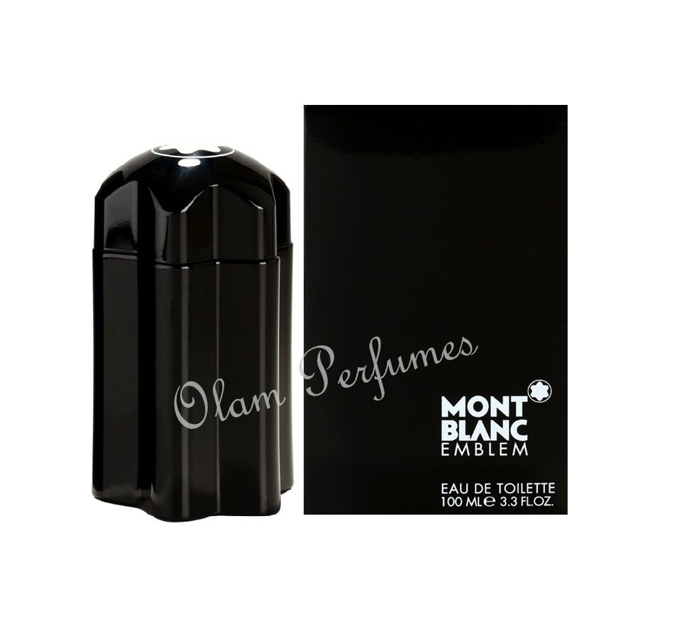 Mont Blanc Emblem For Men Eau De Toilette 3.3oz 100ml