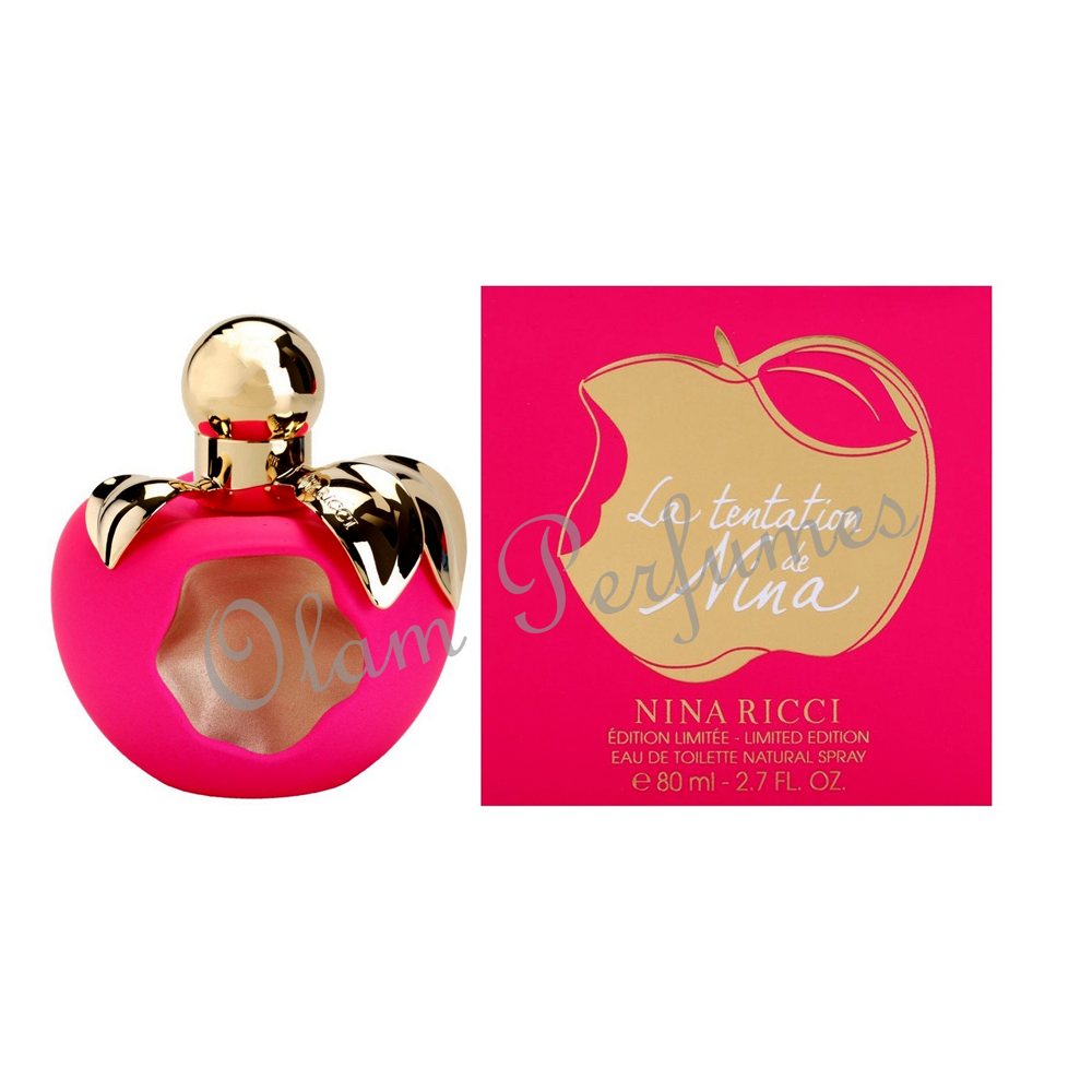 La Tentation De Nina Eau de Toilette Spray 2.7oz 80ml