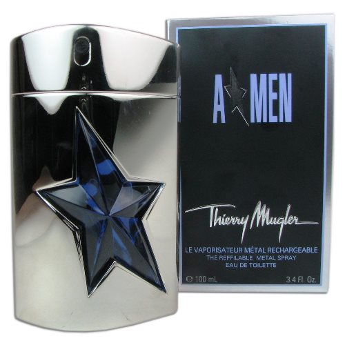 "Angel Men ""A Men"" Metal Case Eau de Toilette Spray 3.4oz 100ml"