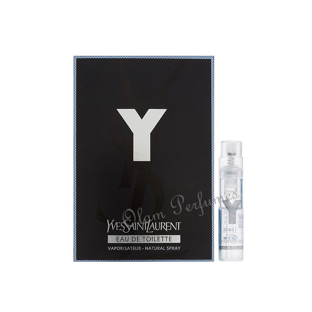 Yves Saint Laurent Y Eau de Toilette Spray Vial Sample 0.05oz
